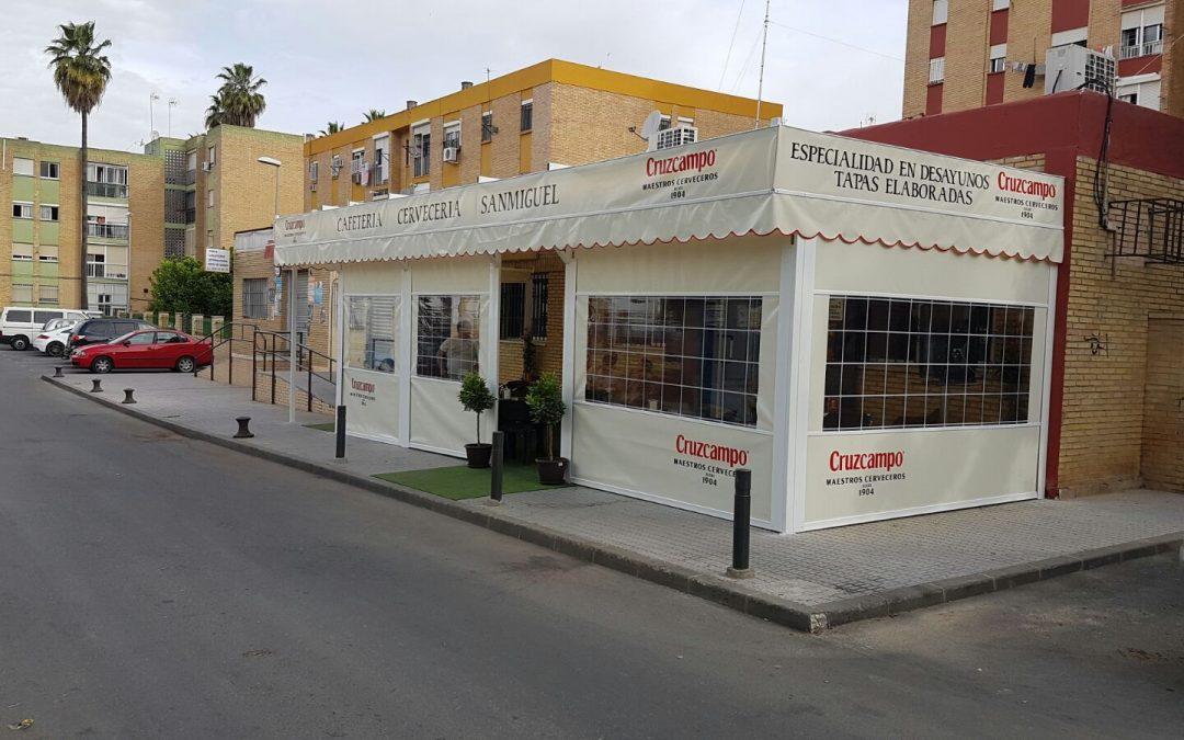 Cafeteria Bar San Miguel. Castilleja de la Cuesta. Sevilla