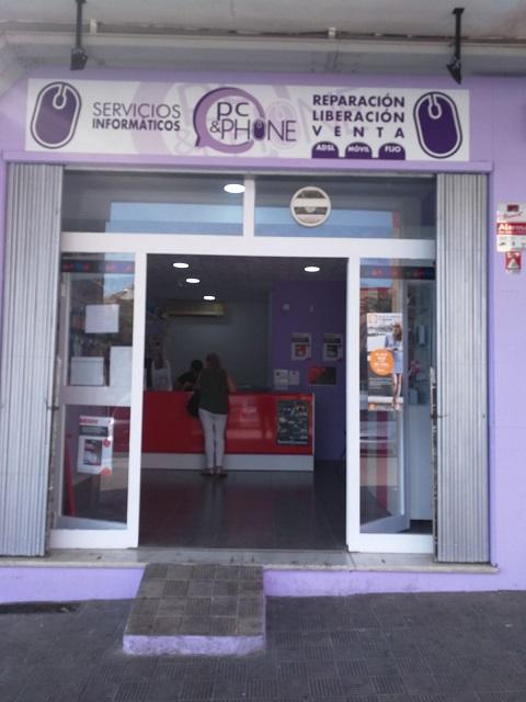 """Servicios Informaticos """"PC & PHONE """". Castilleja de la Cuesta. Sevilla"""