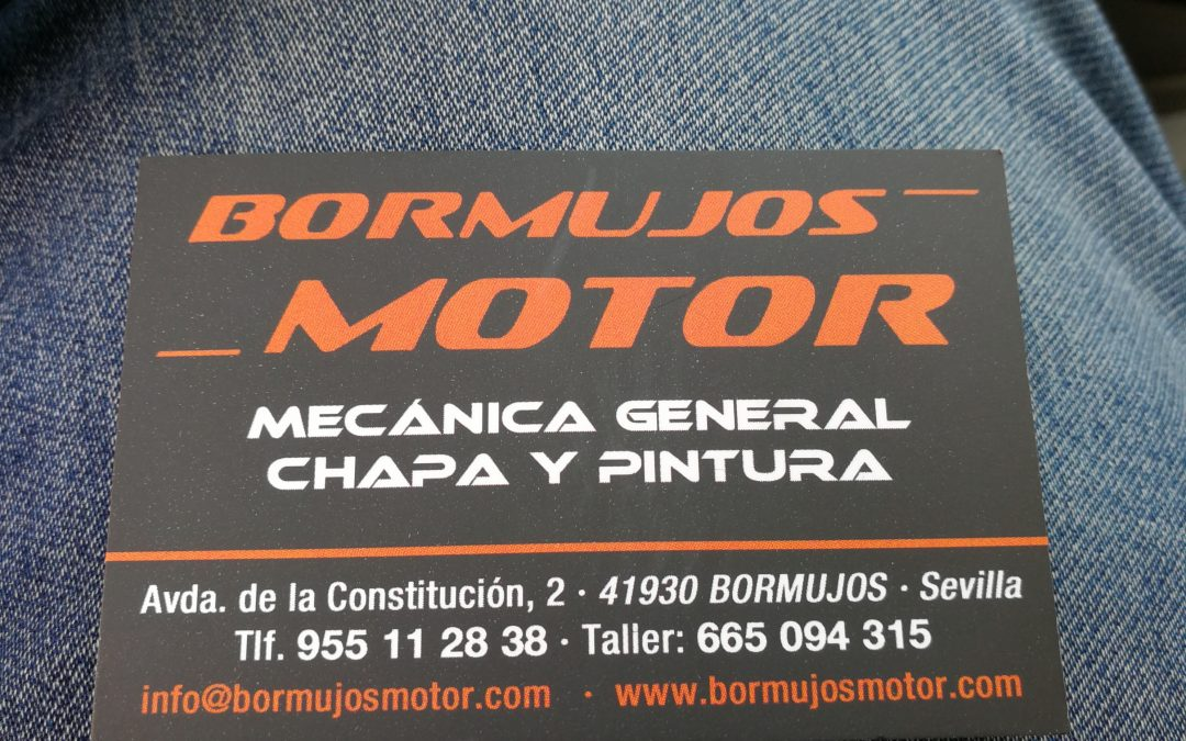"Taller Mecánico ""Bormujos Motor"". Bormujos. Sevilla."