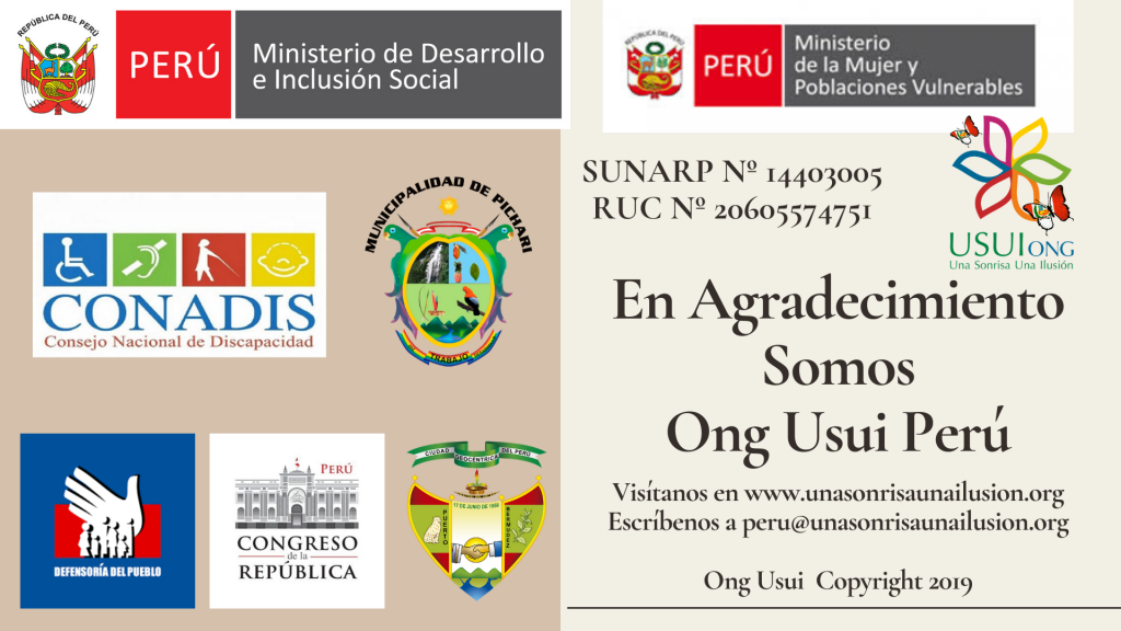 Ong Usui Peru