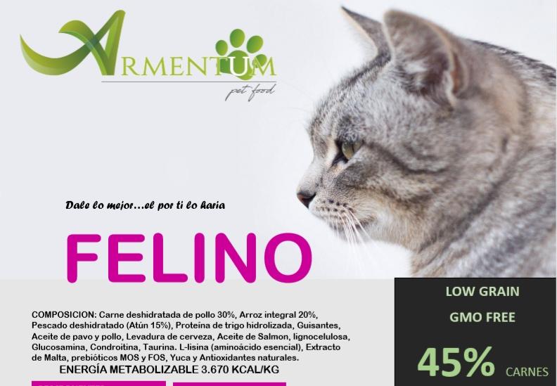 """Nueva linea alimentacion Feral """"FELINO"""". Calidad para tus colonias ferales"""