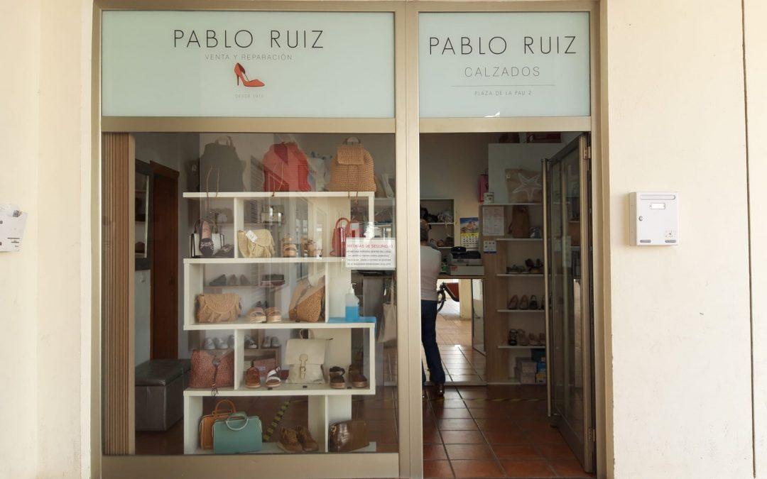 Pablo Ruiz. Venta Reparacion de Calzado. Altea. Alicante