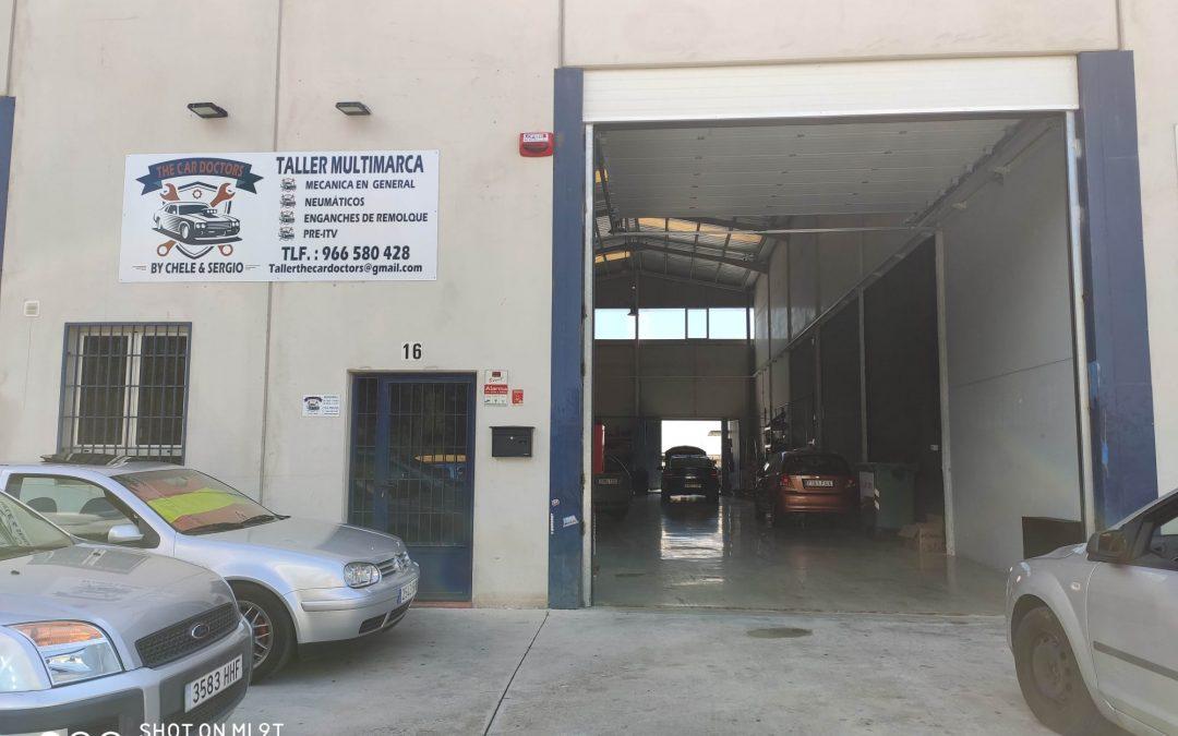 """Taller Mecanico Multimarca """"The Car Doctors"""". La Nucia. Alicante"""