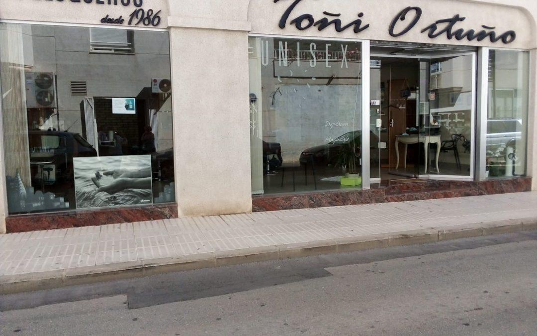 Salon Peluqueria Toñi Ortuño. Altea. Alicante