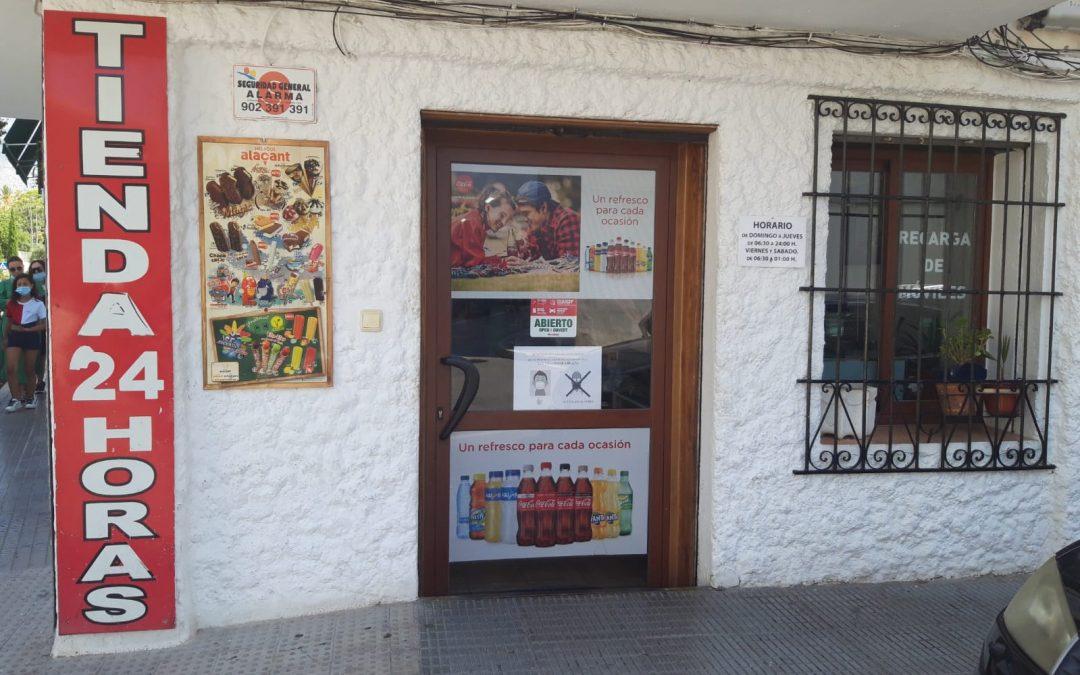 Tienda NON STOP 24 H Altea. Alicante