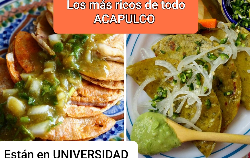 """Tacos de Canasta """"UNIVERSIDAD"""" Acapulco  México"""